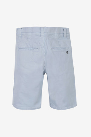 3pommes Light Blue Cotton Shorts