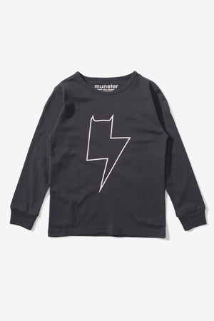 Munster Kids Bolter Tee - Black