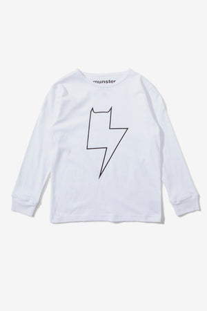 Munster Kids Bolter Tee - White