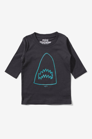 Munster Kids Breach Tee - Black