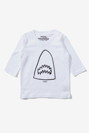 Munster Kids Breach Tee - White