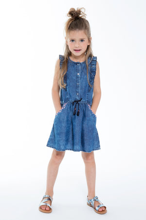 3pommes Chambray Dress