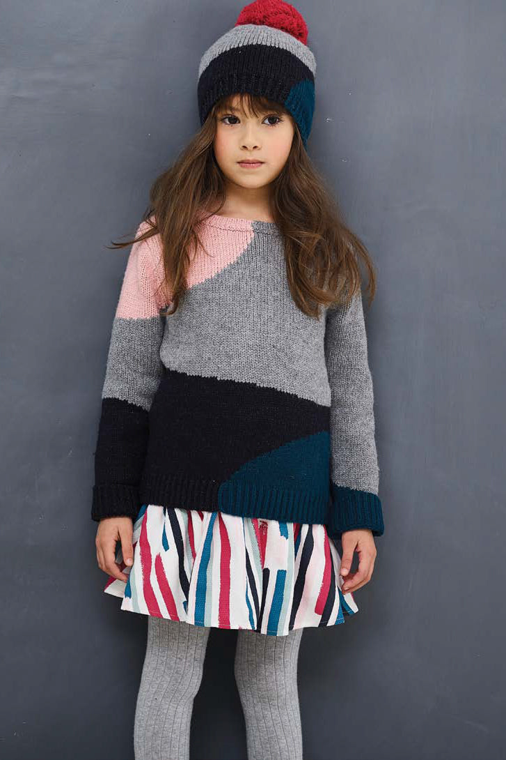 Jean Bourget Colorblock Sweater