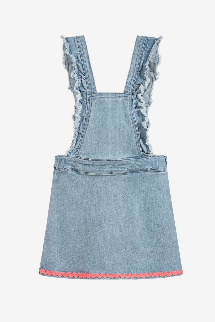 Billieblush Overall Denim Dress