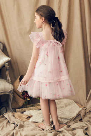 Nellystella Fiona Dress - Spring Floral Tulle