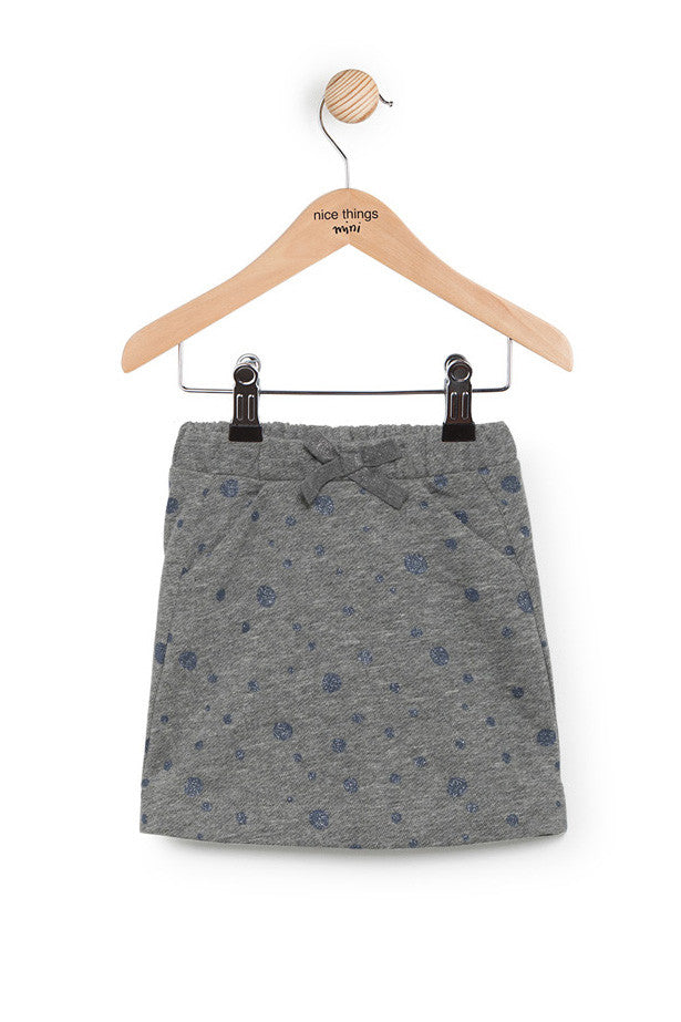 Nice Things Mini Fleece Skirt