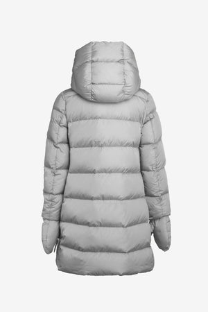 ADD Down Girls Parka with Separate Mitts - Dove