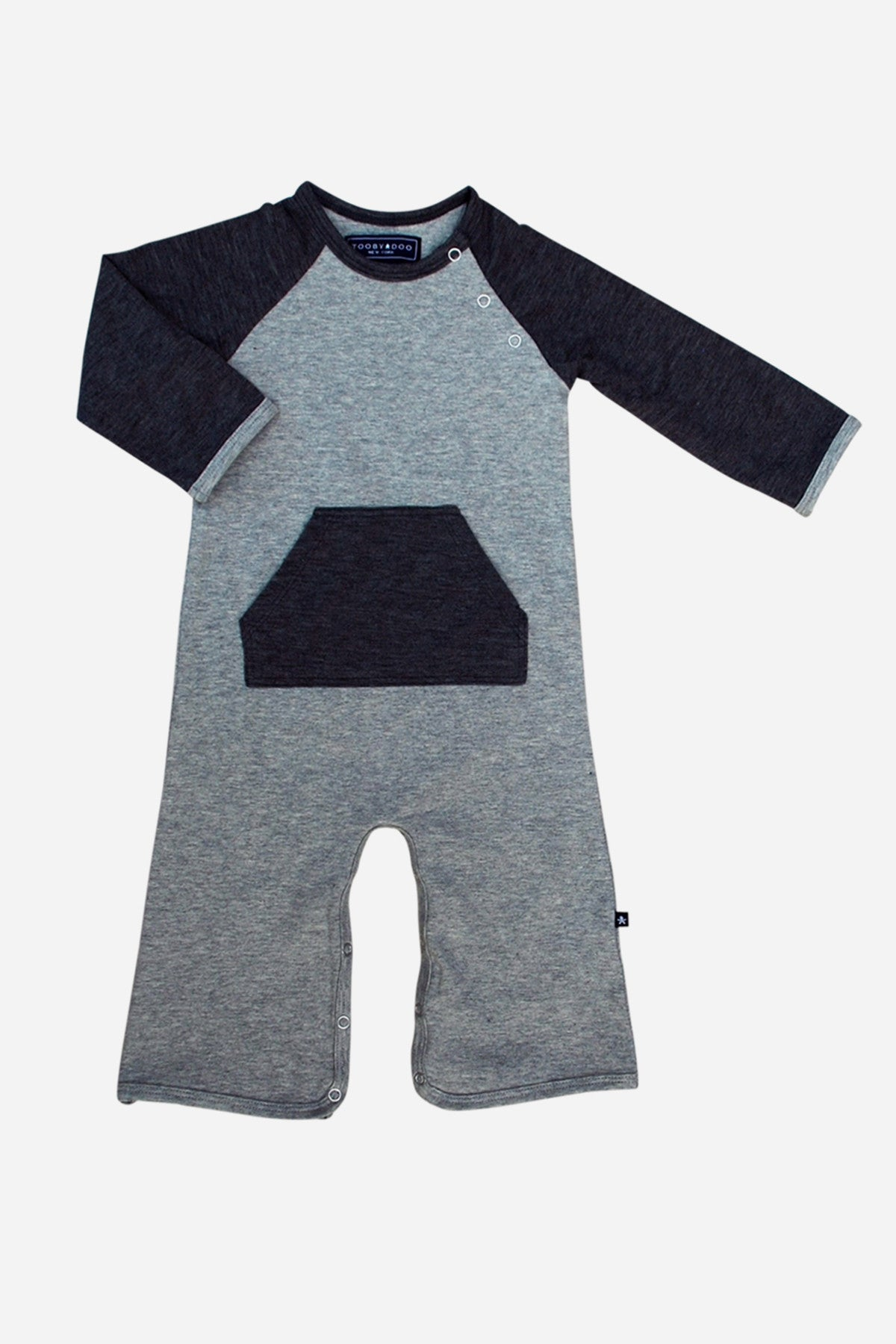 Toobydoo Baseball Baby Boys Jumpsuit (Size 18/24M left)