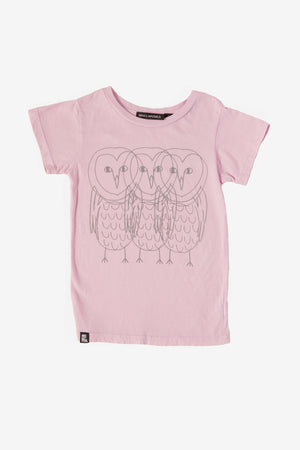 Mini & Maximus Owl Friends Tee (Size 3 left)