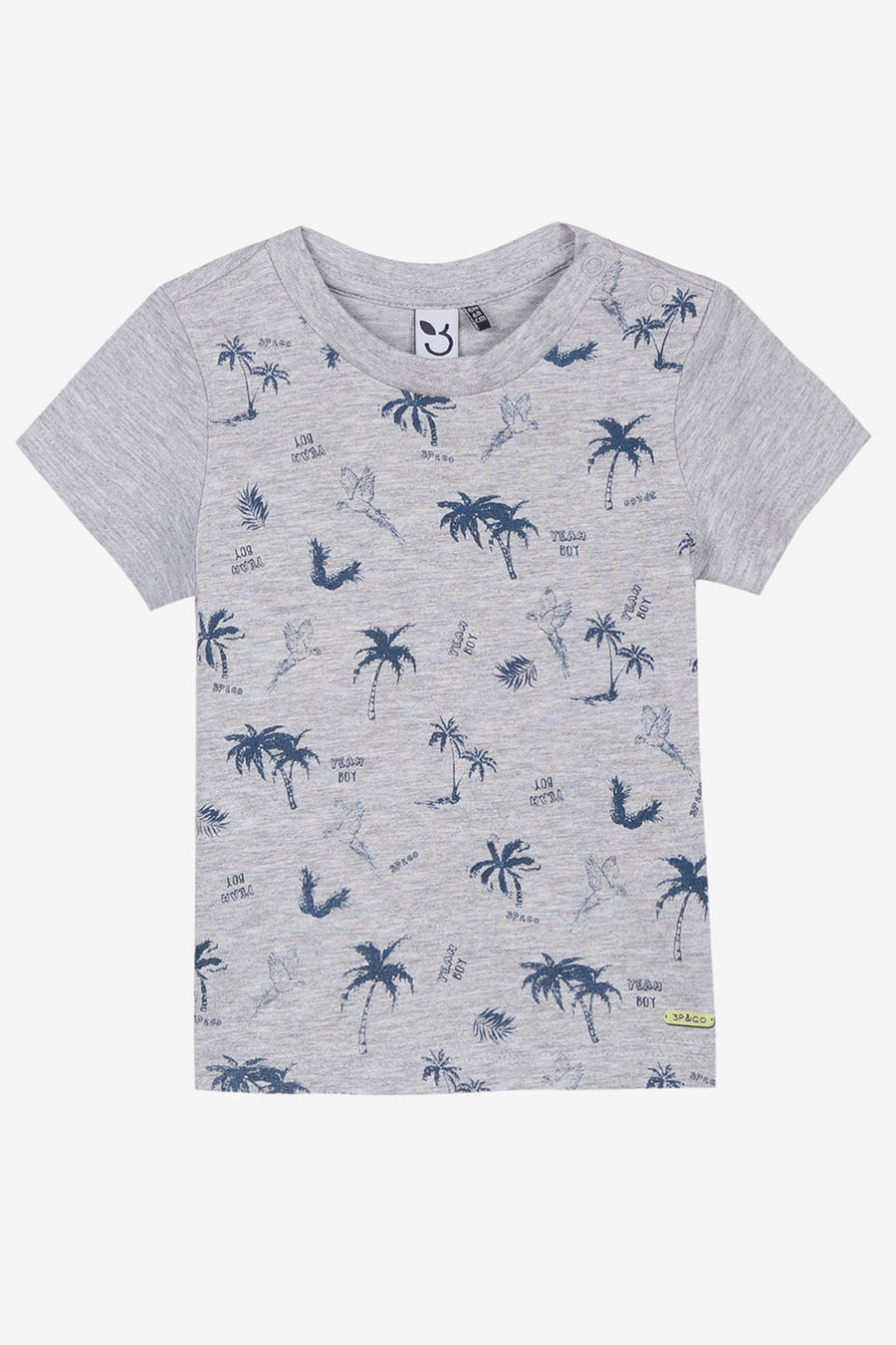 3pommes Palm Tree Tee