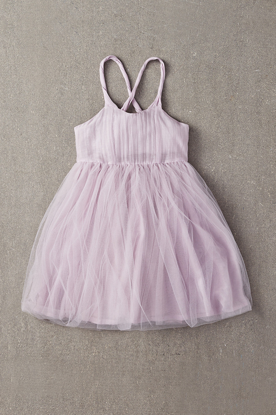 Nellystella Peach Dress - Lavender Fog