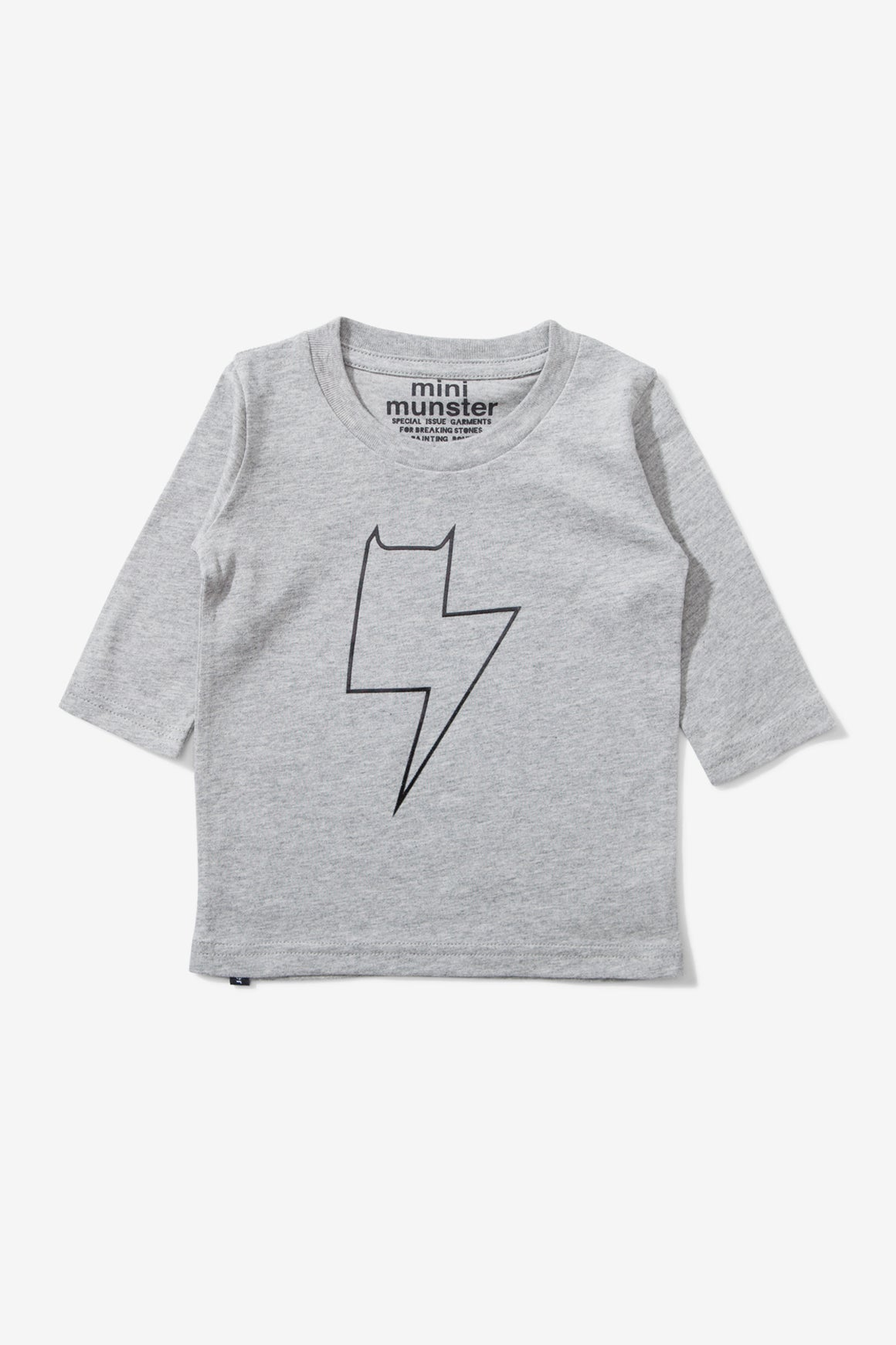 Munster Kids Plugged In Tee - Grey