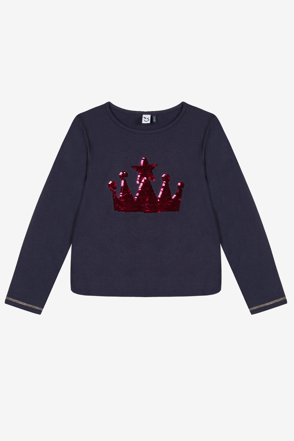 e4ac875d46476 3Pommes Queen s Crown Girls Top