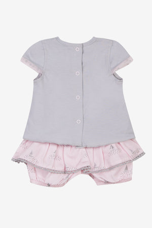 3pommes Rose Pale Baby Set