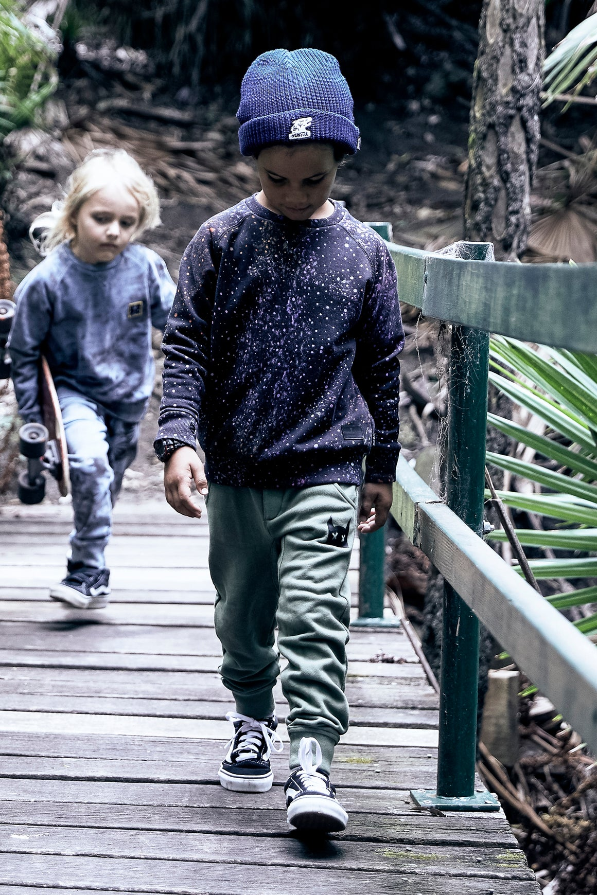 Munster Kids Weekend Pant - Sage