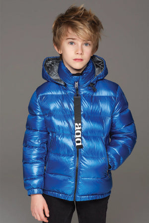 ADD Down Boys Jacket - Sky Diver