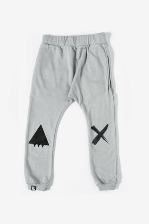 Mini & Maximus Smile Pant - Cool Gray