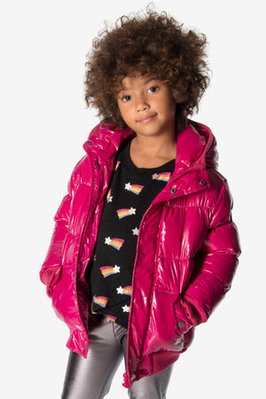 Appaman Fuchsia Puffy Jacket