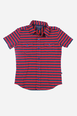 Toobydoo Button Polo Boys Shirt