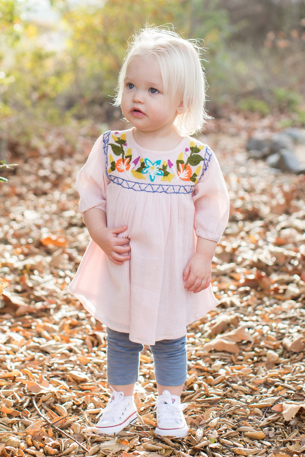 Mimi & Maggie Sweet Flower Dress & Legging