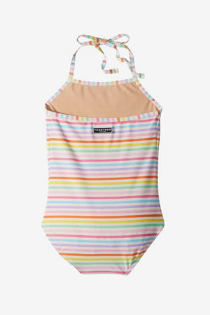 Toobydoo Girls Multi Striped Swimsuit