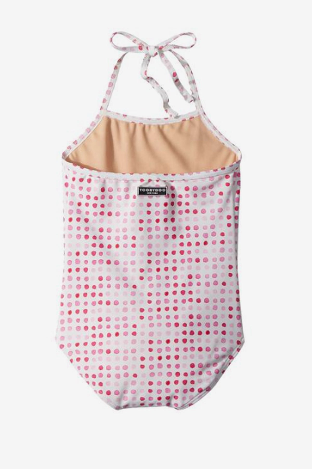 Toobydoo Girls Pink Dot Swimsuit