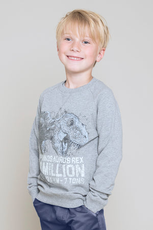 Wheat Dinosaur Sweatshirt