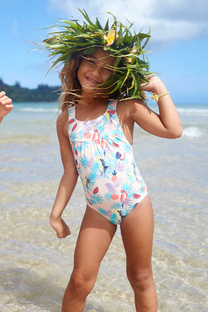 Roxy Vintage Tropical Swimsuit