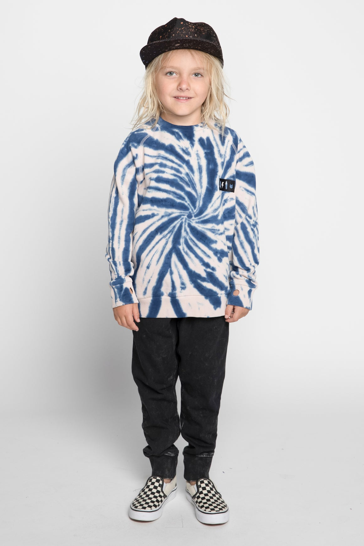 Munster Kids Twisted Top - Blue