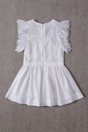 Nellystella Zoe Dress - White