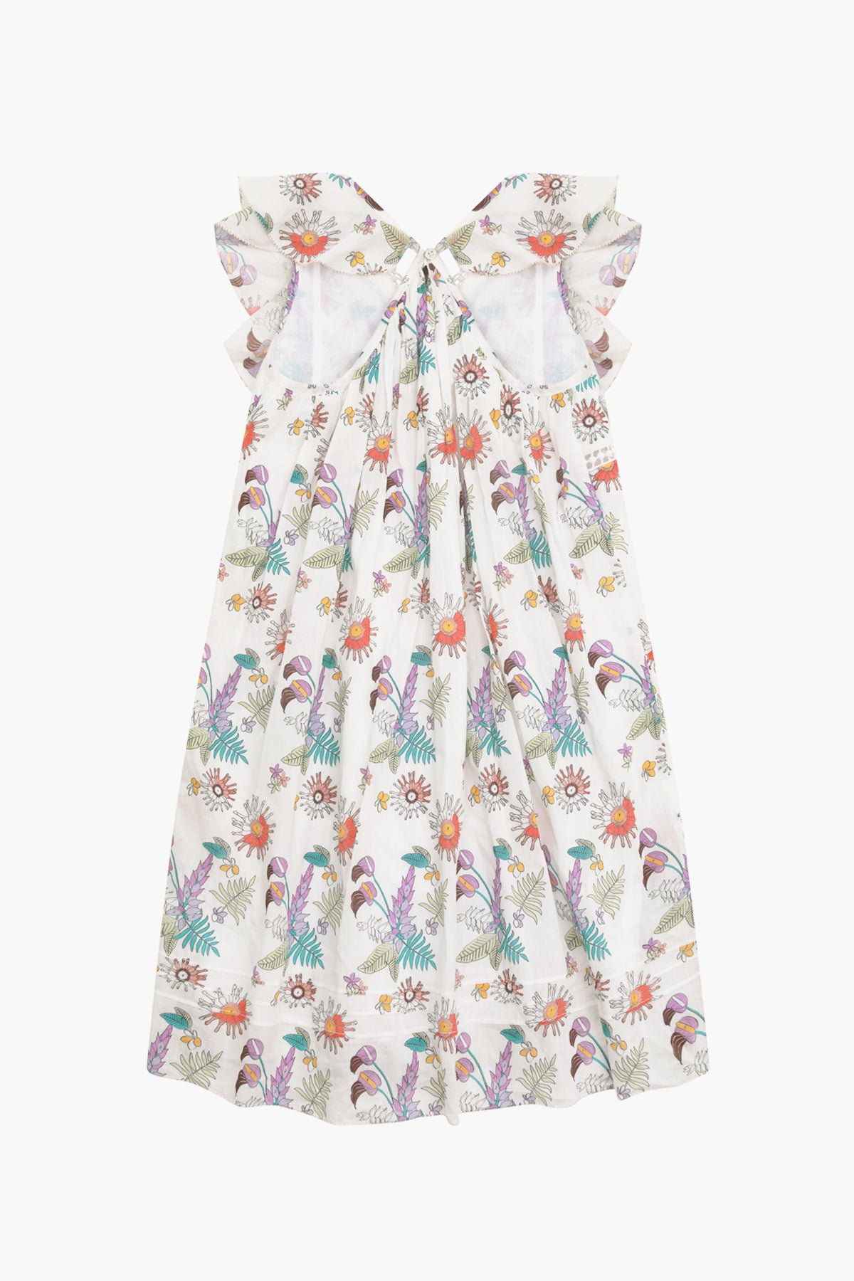 Velveteen Abigail Girls Dress - Paint By Numbers