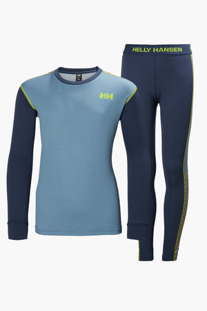 Helly Hansen Jr Lifa Active Set - Blue Fog
