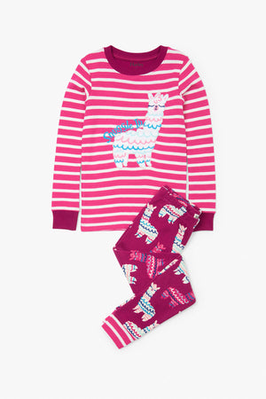 Hatley Adorable Alpacas Girls Pajama Set