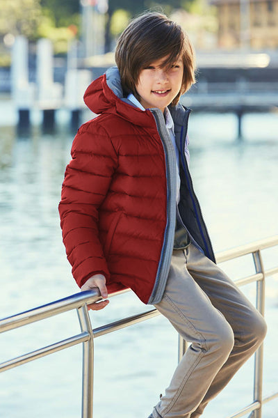 Eddie Pen Alaska Rev Jacket - Red
