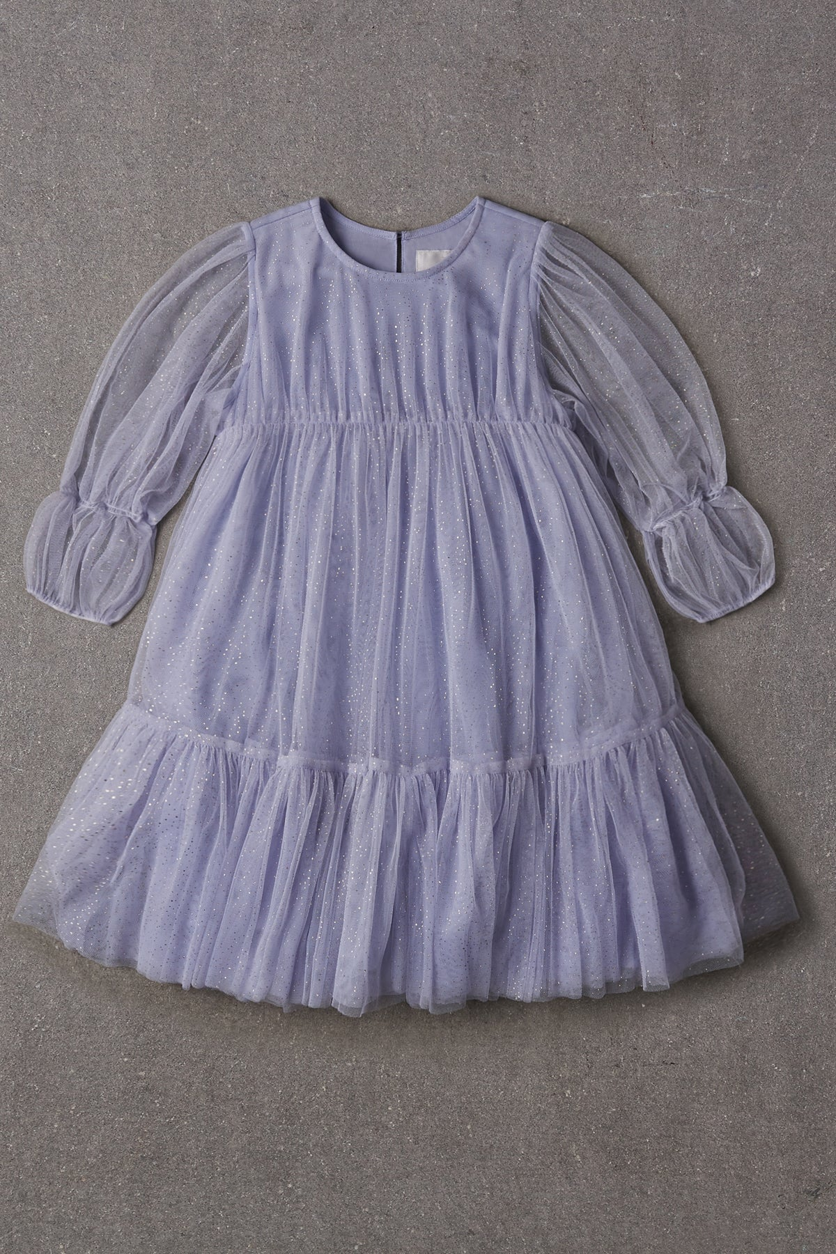 Nellystella Alice Dress - Glitter French Lilac