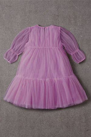 Nellystella Alice Dress - Radiant Orchid