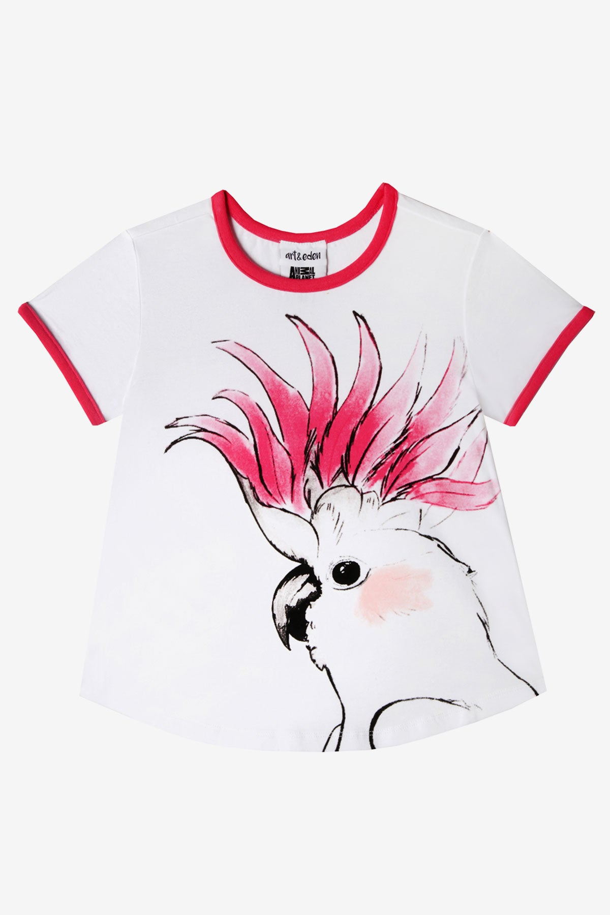 Art & Eden Cockatoo Tee