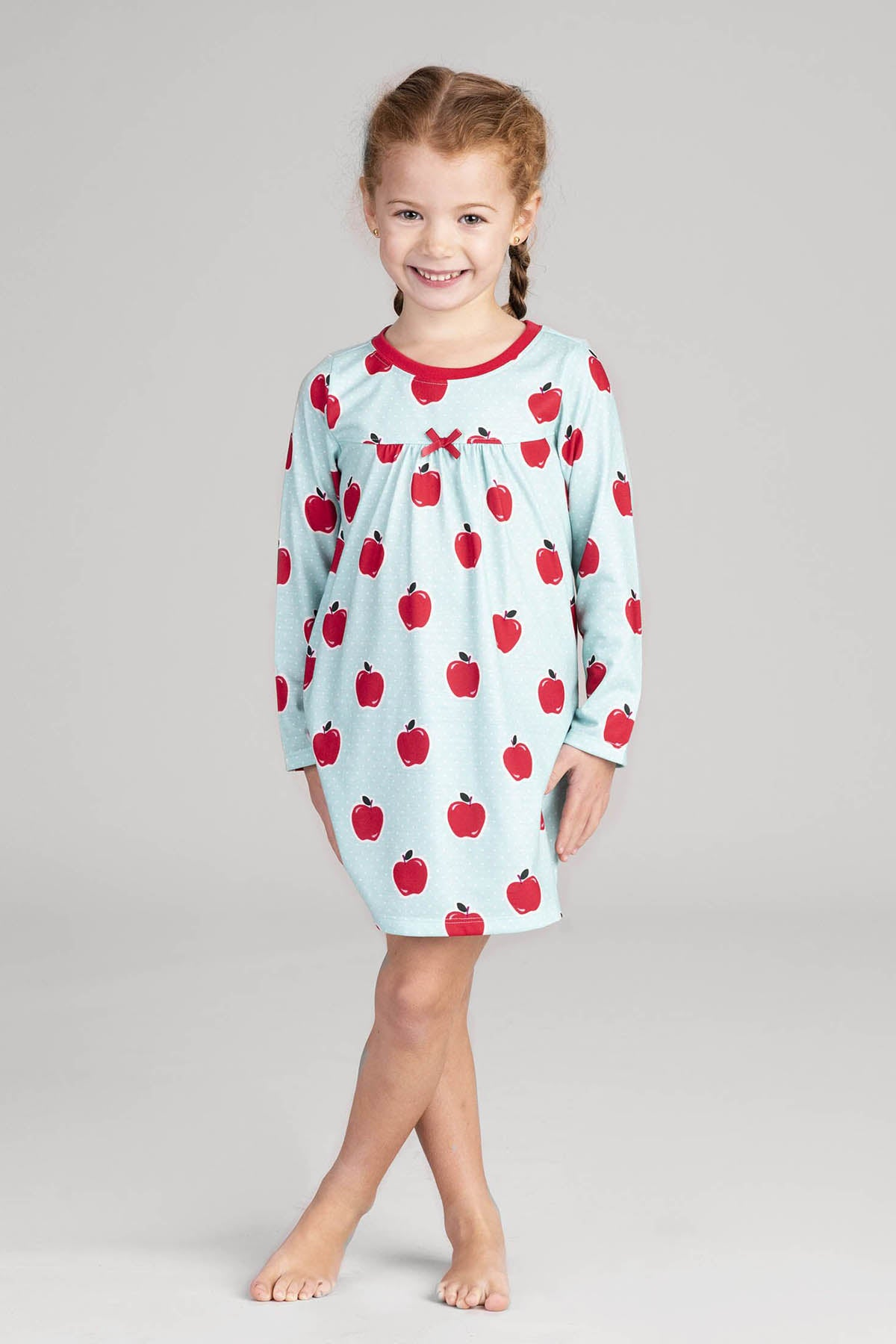 Hatley Apples And Dots Girls Nightgown