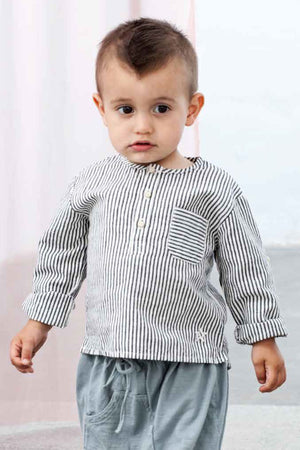 Tocoto Vintage Baby Boys Striped Shirt