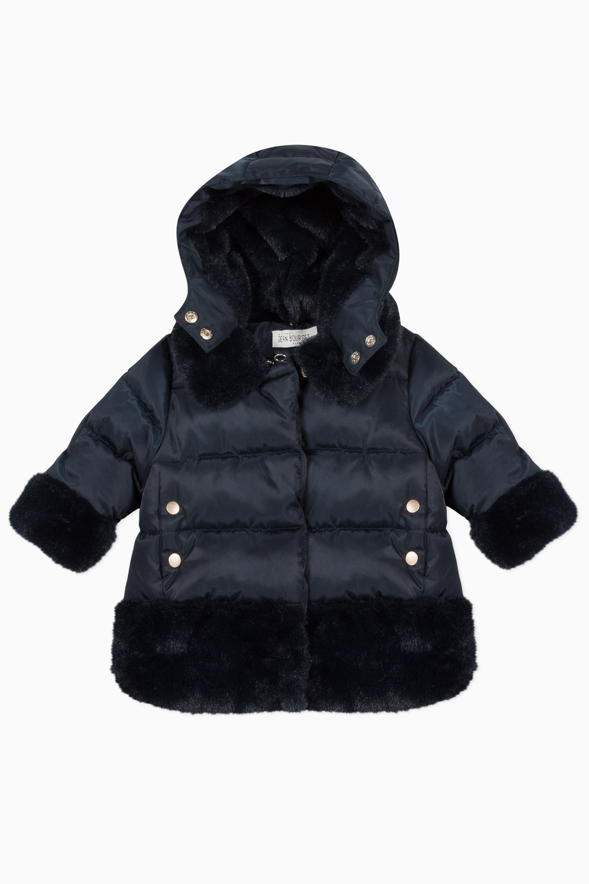 Jean Bourget Marine Blue Baby Coat