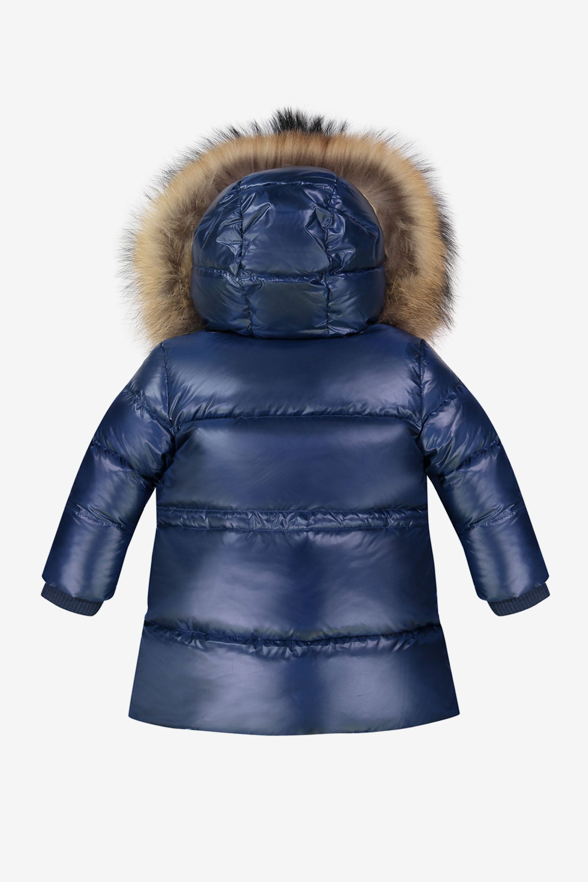 70b04242c ADD Down Baby Parka - Cobalt (Size 18M left) - Mini Ruby