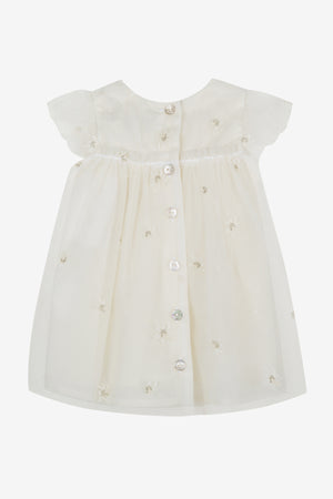 Tartine et Chocolat Baby Cream Occasion Dress