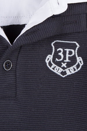 3pommes Baby Boy Navy Polo