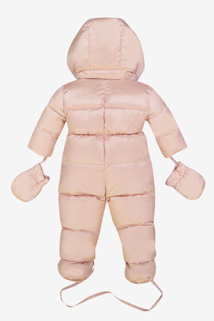 ADD Down Baby Suit - Rose
