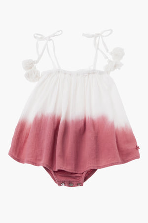 Tocoto Vintage Baby Tie Dye Dress