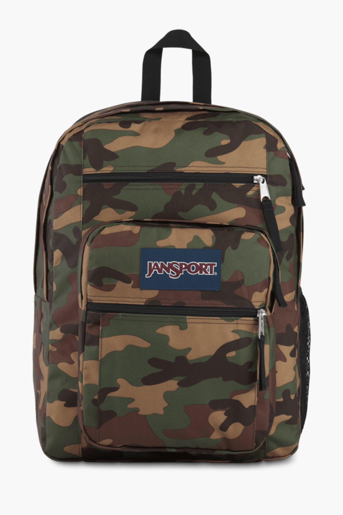 JanSport Big Student Kids Backpack - Camo