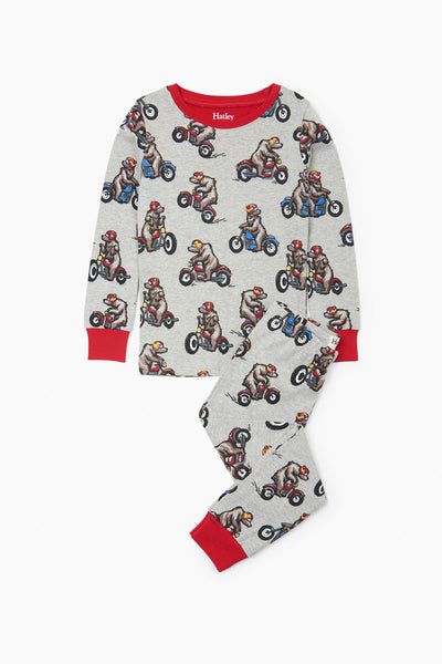 Hatley Winter Biking Bears Pajama Set