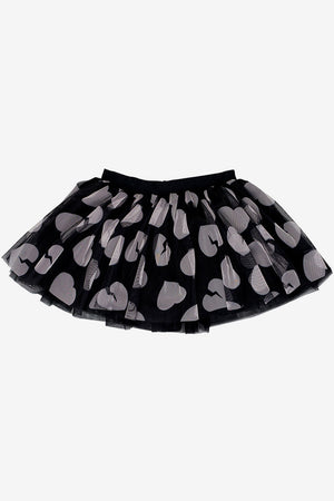 Huxbaby Tulle Girls Skirt - Black
