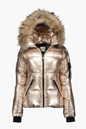 SAM. Girls Blake Jacket - White Gold