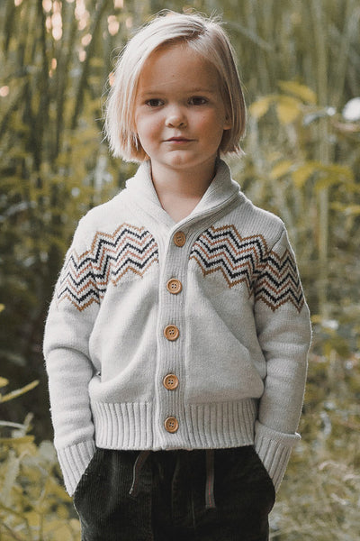Rylee + Cru Knit Boys Cardigan